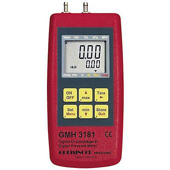 GMH GREISINGER 3181-01 Manómetro fino Digital con registrador