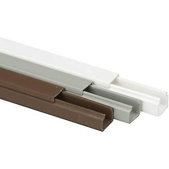 Heidemann 09940 Cable duct (L x W x H) 2000 x 15 x 15 mm 1 pc(s) Brown