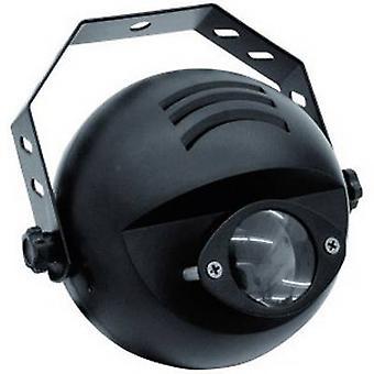 LED pin spot Eurolite LED PST-9 W No. of LEDs: 1 x 9 W Black