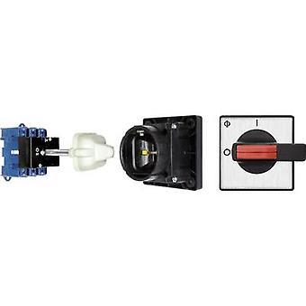 Kraus & Naimer KG315 T103/13 VE Isolator switch + door interlock 315 A 1 x 90 ° Black 1 pc(s)