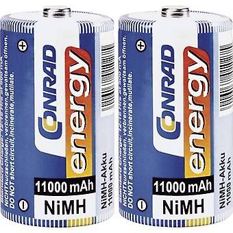 D battery (rechargeable) NiMH Conrad energy HR20 11000 m