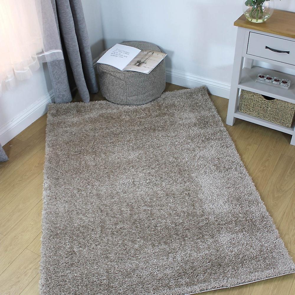 Tapis velours brut naturel Rectangle tapis Plain presque ordinaire