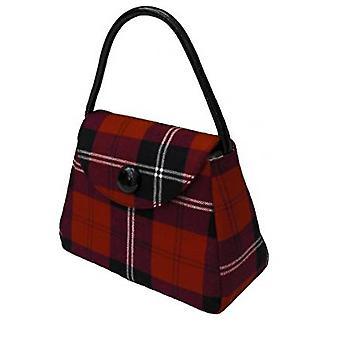 Harris Tweed or Tartan Handbag S (Ramsay Red)