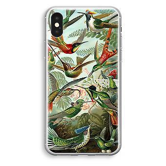 iPhonegeval XS Transparant (Soft) - Haeckel kolibries (Trochilidae)