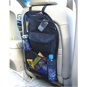 TRIXES Car Back Seat Storage Organiser with Pouch for iPad, Map, Food & Accessories