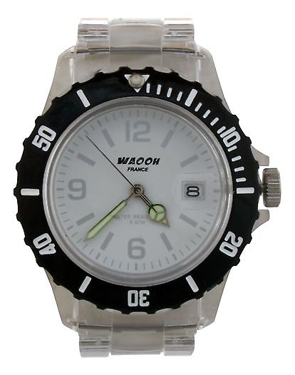 Waooh - Watch VENICE 38 Special Bezel Black