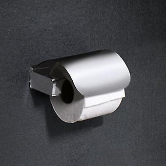 Gedy Kent Toilet Roll Holder met klep chroom 5525 13