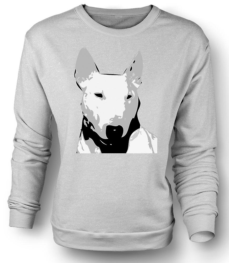 Mens Sweatshirt English Bull Terrier - Pet Dog