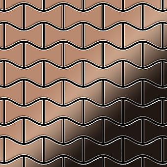Metal mosaic Titanium ALLOY Kismet-Ti-AM