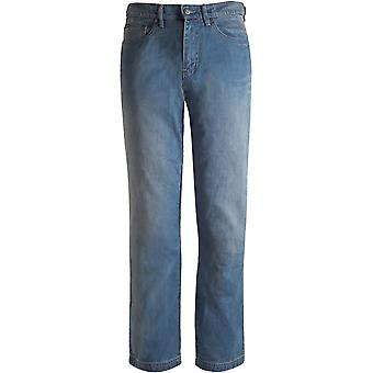 Bull-It Blue Atlantic SR6 Straight - Long Motorcycle Jeans