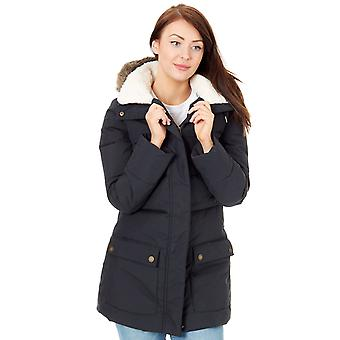 Roxy True Black Ellie Womens Water Resistant Jacket