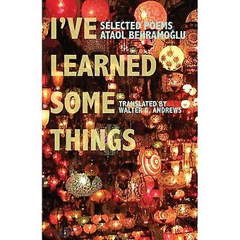 Jeg har lært noen ting: Utvalgte dikter (moderne Midtøsten litteratur i oversettelse-serien)