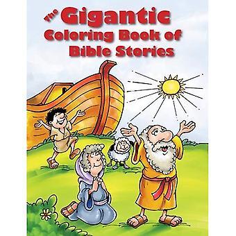 Le livre de coloriage gigantesque des récits bibliques