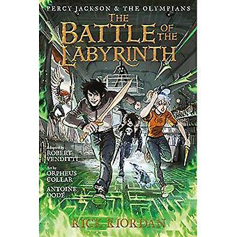 Percy Jackson och Olympians striden av labyrinten: den grafiska romanen (Percy Jackson & olympier)