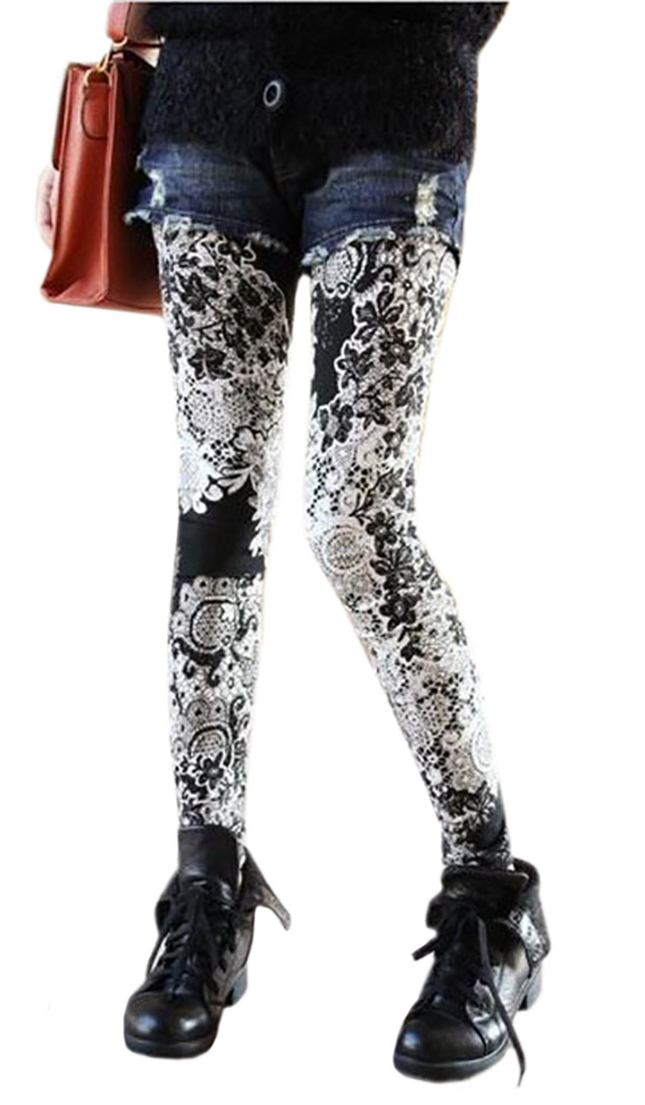 Waooh - Legging lace pattern Ioth