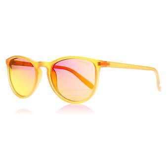 Polaroid Junior 8016/N IMT oranje 8016/N vierkante zonnebril gepolariseerde Lens categorie 3 Lens gespiegelde grootte 48mm