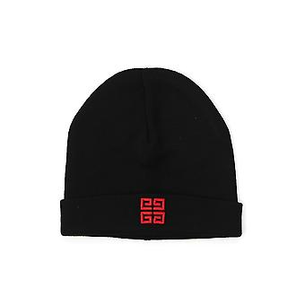 Givenchy Black/red Wool Hat