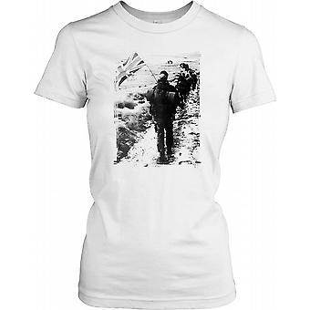 Royal Marines Yomp i Falklands damer T skjorte
