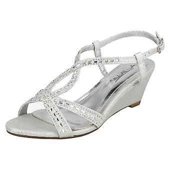Ladies Anne Michelle Wedge Sandals