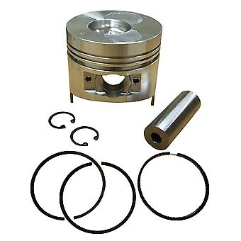 Complete Piston Assembly With Rings Fits Yanmar L100 Engine