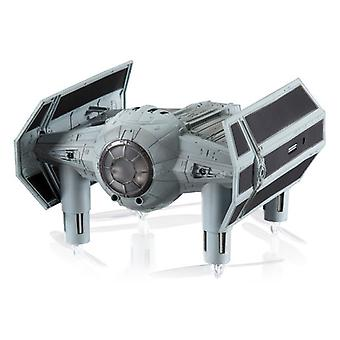 Remote-guided drone propel Star Wars tie fighter standard box 35 mph 2.4 GHz grey