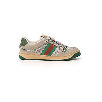 Gucci Multicolor Leather Sneakers