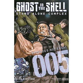 Ghost in the Shell - Stand Alone Complex 5 by Yu Kinutani - 9781612625