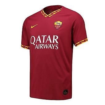 2019-2020 Roma Authentic Vapor Match Home Nike Shirt