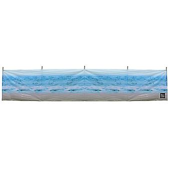 OLPRO Beach 5 Pole Windbreak Camping Shelter with Wooden poles 480cm x 130cm