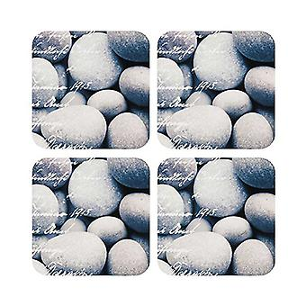 Ladelle River Stone Coasters Set of 4
