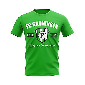 FC Groningen Established Football T-Shirt (Vert)