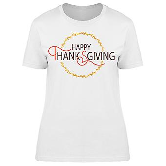 Thanksgiving Holiday Tee Women's -Image by Shutterstock