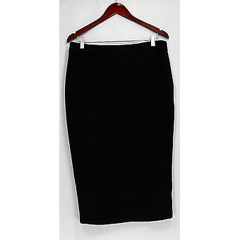G.I.L.I. got it love it Skirt Stretch Twill Striped Burgundy/ Black A268271