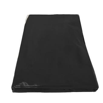 Cotton Slip Cover for Double Futon Mattress - Black