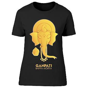 Lord Ganpati Ganesh Chaturthi Tee Women's -Image by Shutterstock