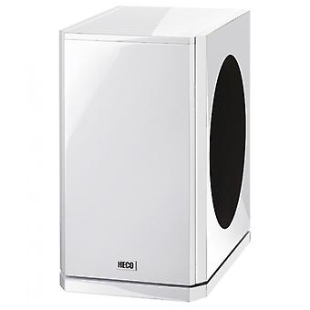 Heco Aleva GT sub 322A, active bass reflex subwoofer, Sidefire-principle, white, 1 piece new goods