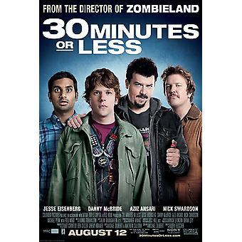 30 Minutes Or Less Poster Single Sided Regular (2011) Original Cinema Poster