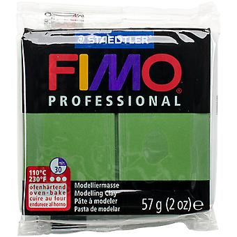 Fimo Professional Soft Polymer Clay 2oz-Leaf Green EF8005-57