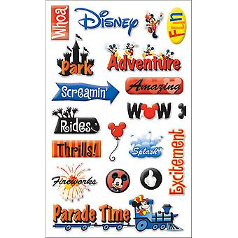 Disney Gems Stickers Packaged Disney Adventure Pdgem 9