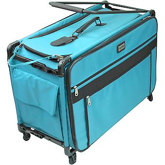 TUTTO Machine On Wheels Case-Turquoise 9224XL-TUR