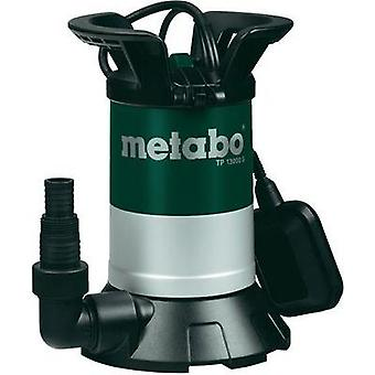 Clean water submersible pump Metabo 0251300000 13000 l/h 9.5 m