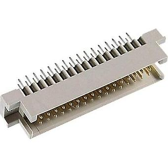 Edge connector (pins) DIN 41612 Type R / 2 48M abc 4 mm straight Total number of pins 48
