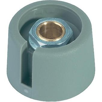 Control knob Grey (Ø x H) 20 mm x 16 mm OKW A3020068 1 pc(s)