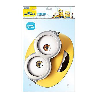 Minion Bob Official Minions Card Party Face Mask