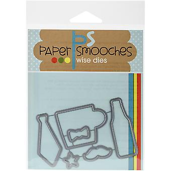 Paper Smooches Die-Daddy Yo Icons A1D317