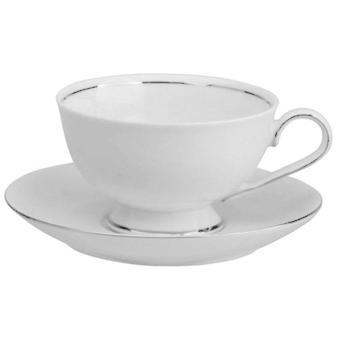 Avet Coffee Tea With 220 Ml Plate Set of 6