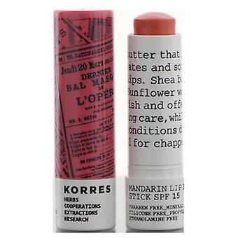 Korres Peach Lip Stick Spf15 (Woman , Cosmetics , Skin Care , Eyes and lips)