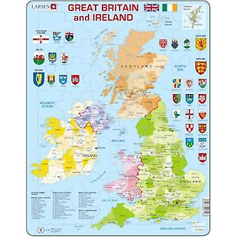 Larsen Great Political Puzzle Great Britain