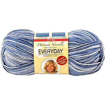 Deborah Norville Collection Everyday Print Yarn-Blue DN200-33