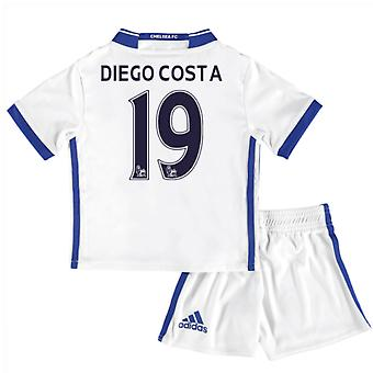 2-16-17 Chelsea Third Mini Kit (Diego Costa 19)